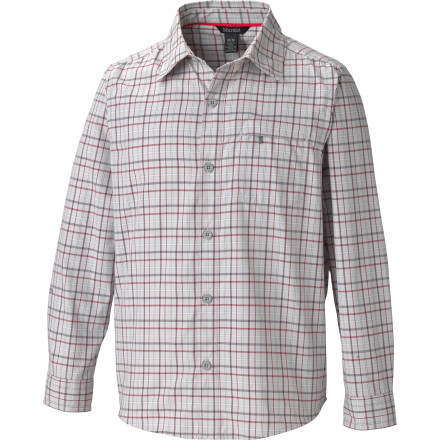 Marmot Cordova Plaid LS Top