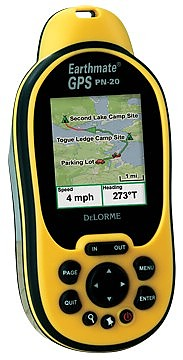 photo: DeLorme Earthmate GPS PN-20 handheld gps receiver