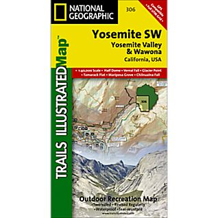 National Geographic Yosemite SW - Yosemite Valley and Wawona