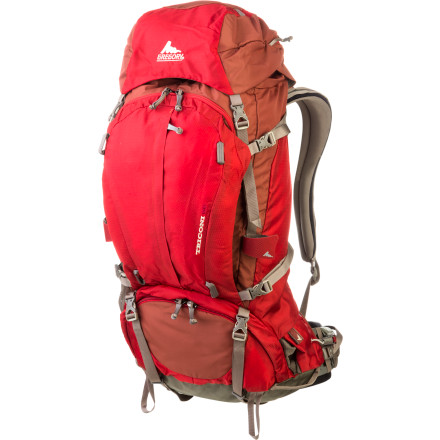 photo: Gregory Triconi 60 weekend pack (50-69l)