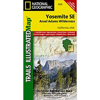 National Geographic Yosemite SE - Ansel Adams Wilderness