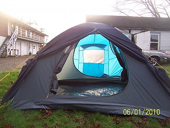 Overall the Dugdale is a very nice and roomy tent for 2. Big enough for 5. Well thought out and well made. Sitting in it for 4 hours was easy and ... & Halfords Dugdale Reviews - Trailspace.com