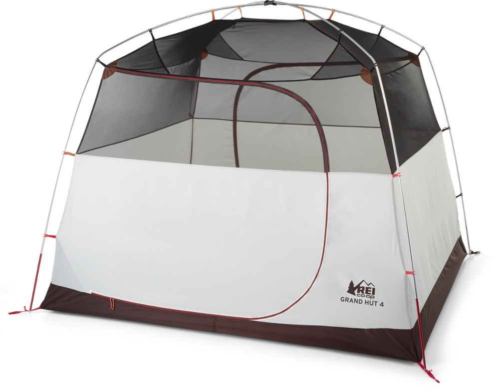 photo: REI Grand Hut 4 Tent three-season tent