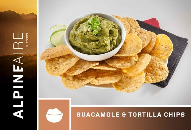 photo: AlpineAire Foods Guacamole & Tortilla Chips snack/side dish