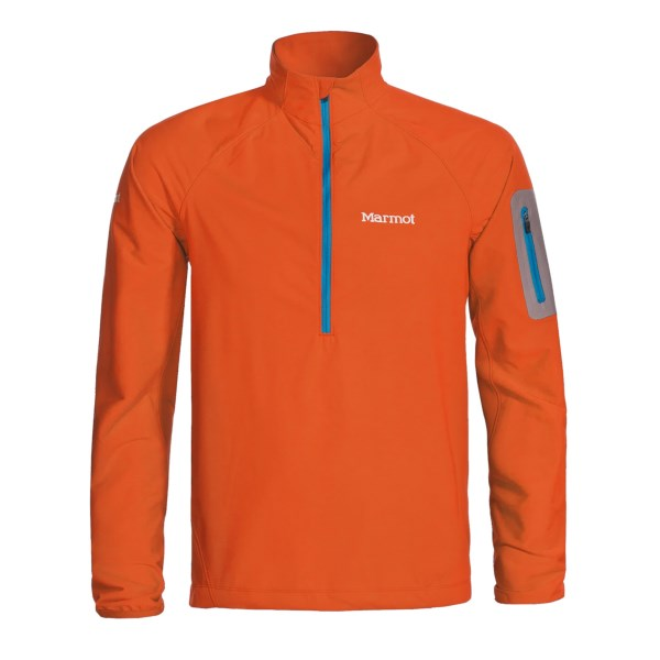 photo: Marmot Vapor Trail 1/2 Zip soft shell jacket