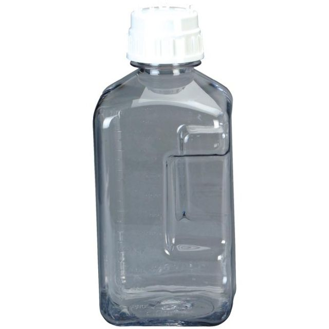 photo: Nalgene Transparent Square Storage Bottles storage container