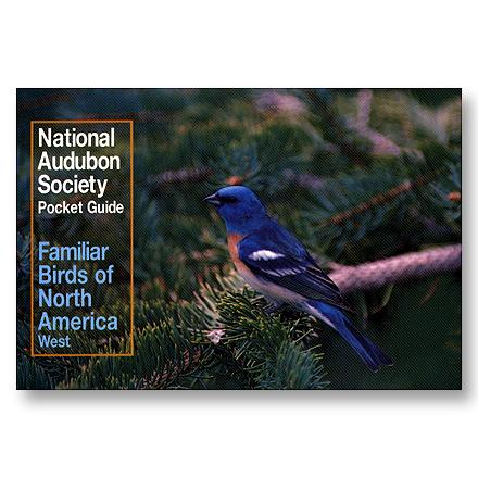 National Audubon Society Pocket Guide To Familiar Birds Of North America - West