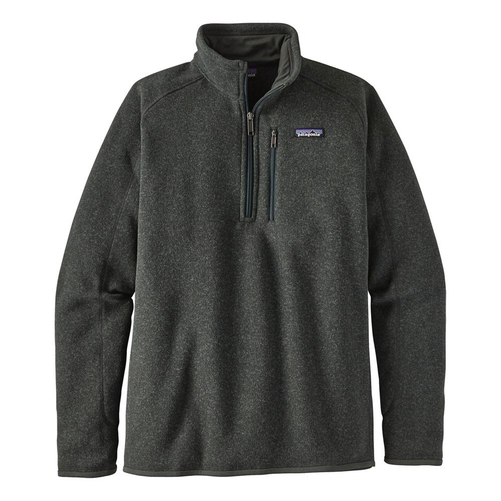 photo: Patagonia Men's Better Sweater 1/4-Zip fleece top