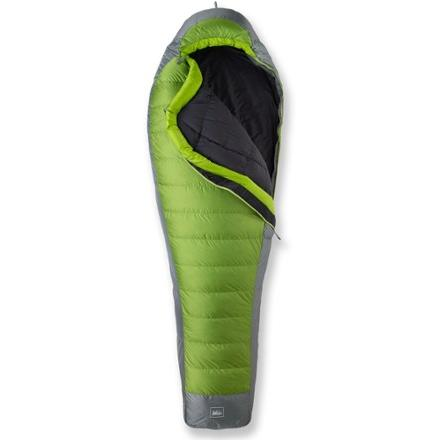 photo: REI Flash Sleeping Bag 3-season (0° to 32°f) sleeping bag