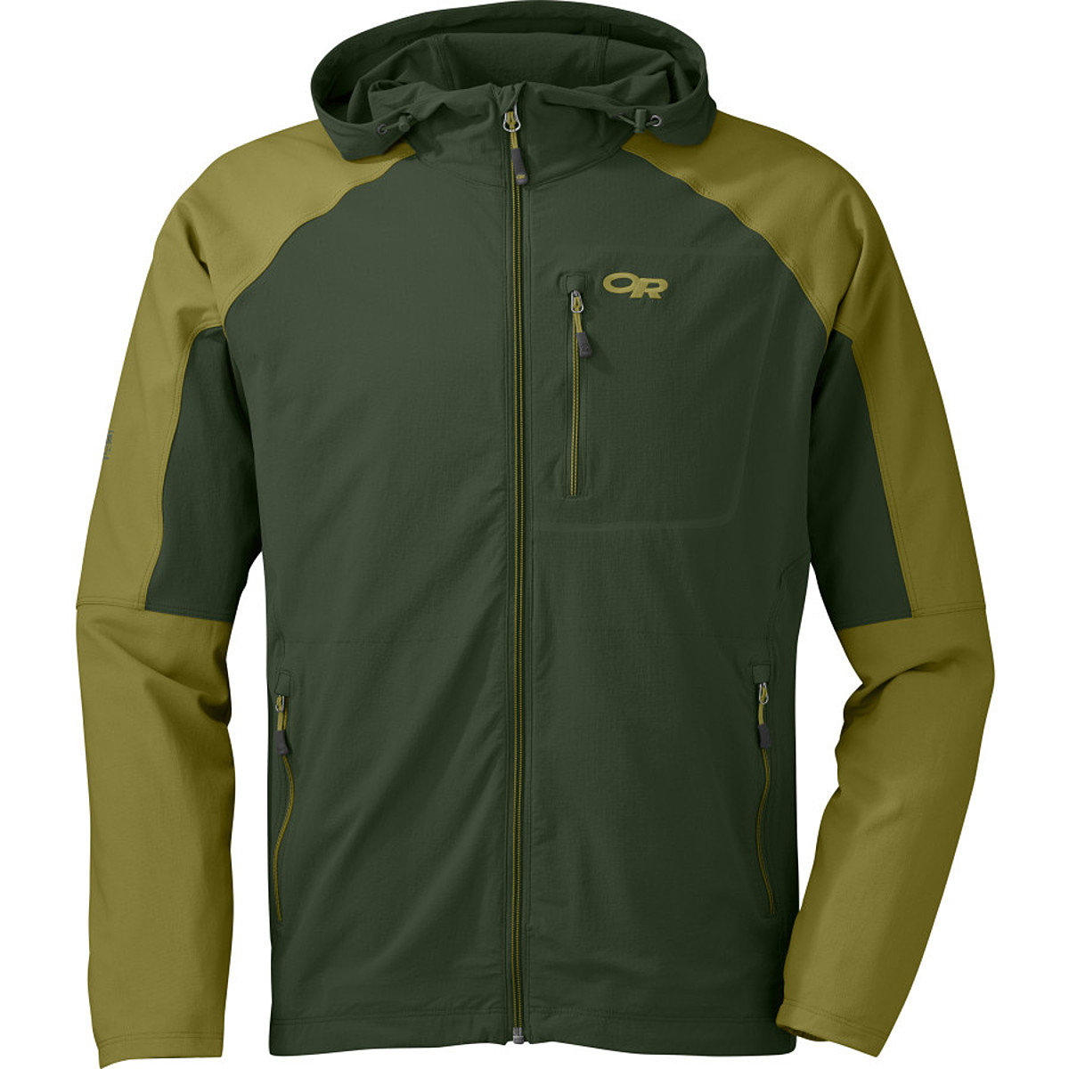 photo: Outdoor Research Ferrosi Hoody soft shell jacket