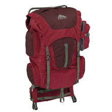photo: Kelty Trekker 64 external frame backpack