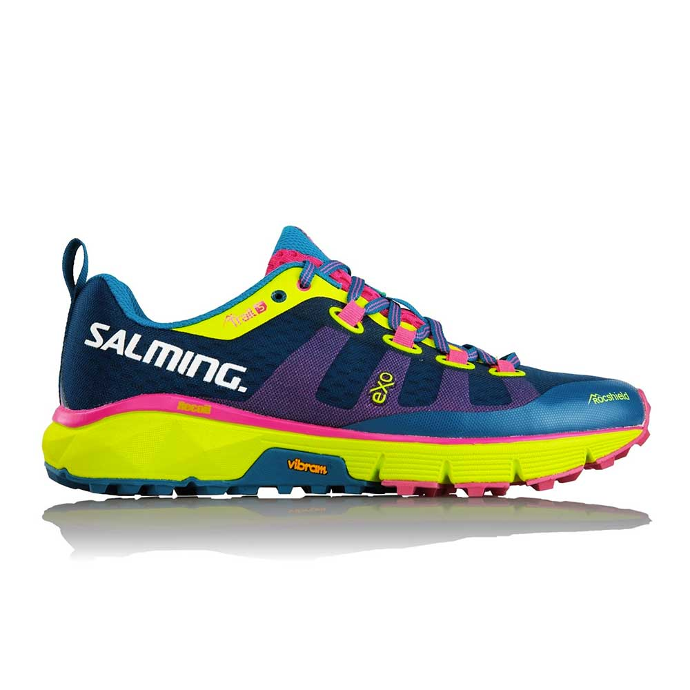 photo of a Salming trail running shoe