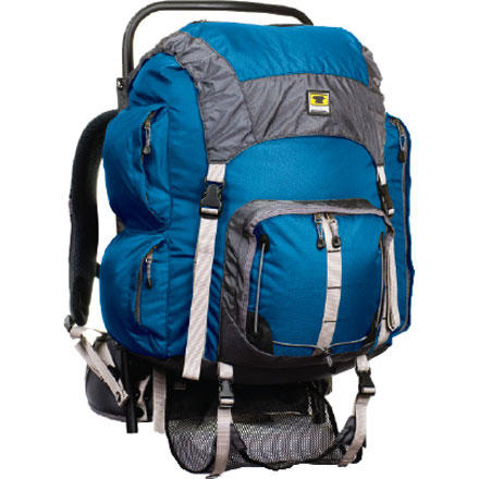 photo: Mountainsmith Youth Scout external frame backpack