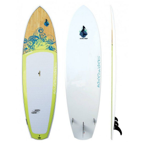 photo of a Boardworks stand-up paddle board