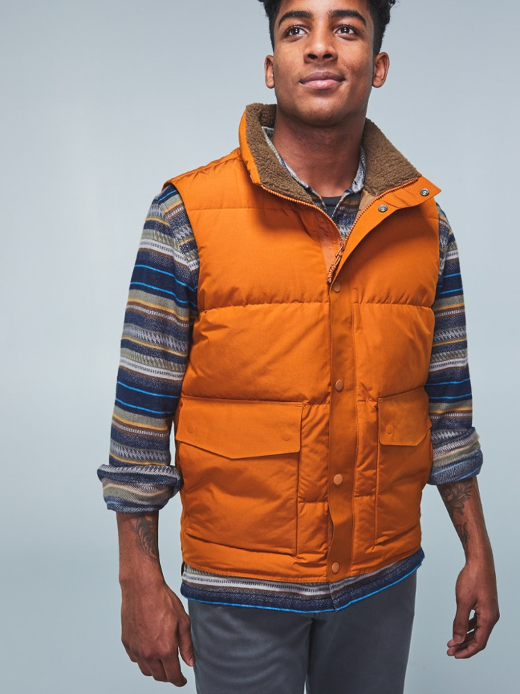 photo: REI Wallace Lake Down Vest down insulated vest