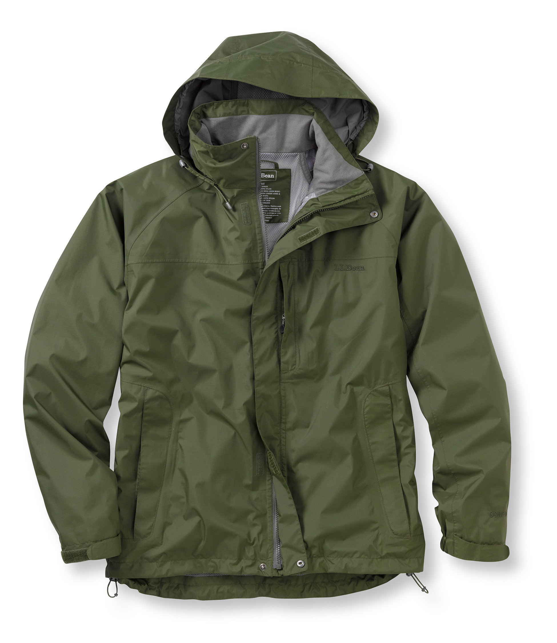 photo: L.L.Bean Stowaway Jacket waterproof jacket