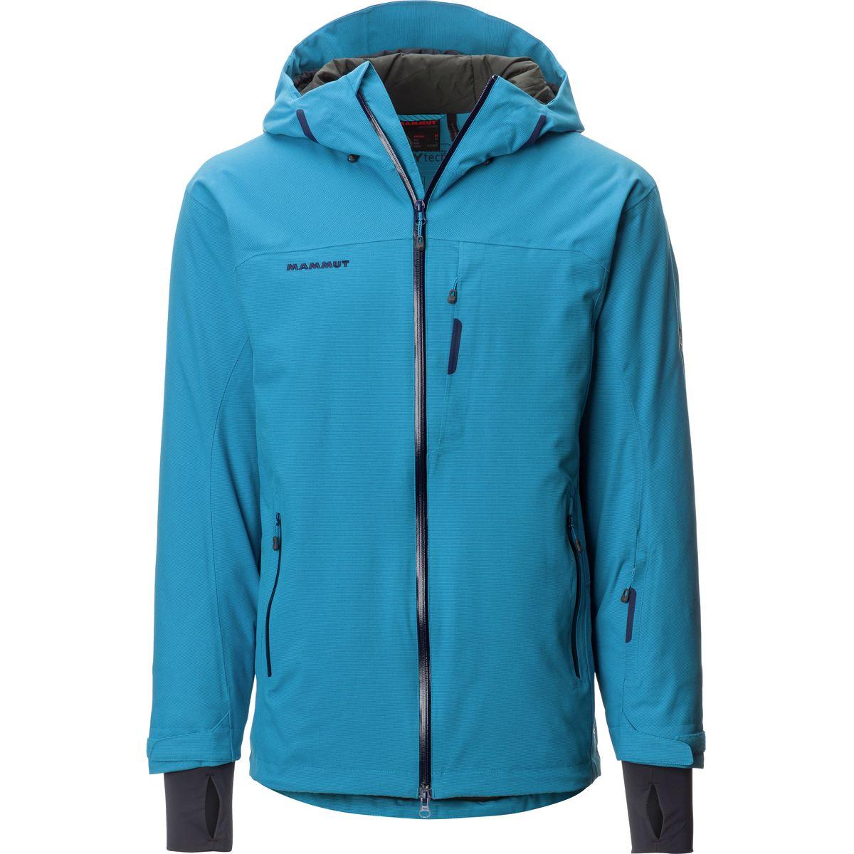 photo: Mammut Bormio HS Hooded Jacket snowsport jacket