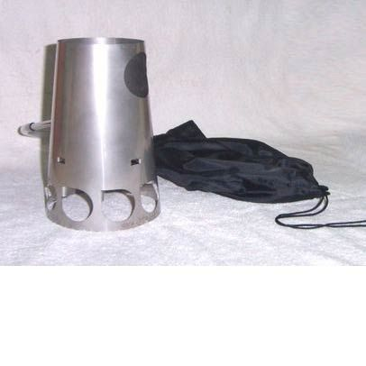 photo: Stratus TrailStove solid fuel stove