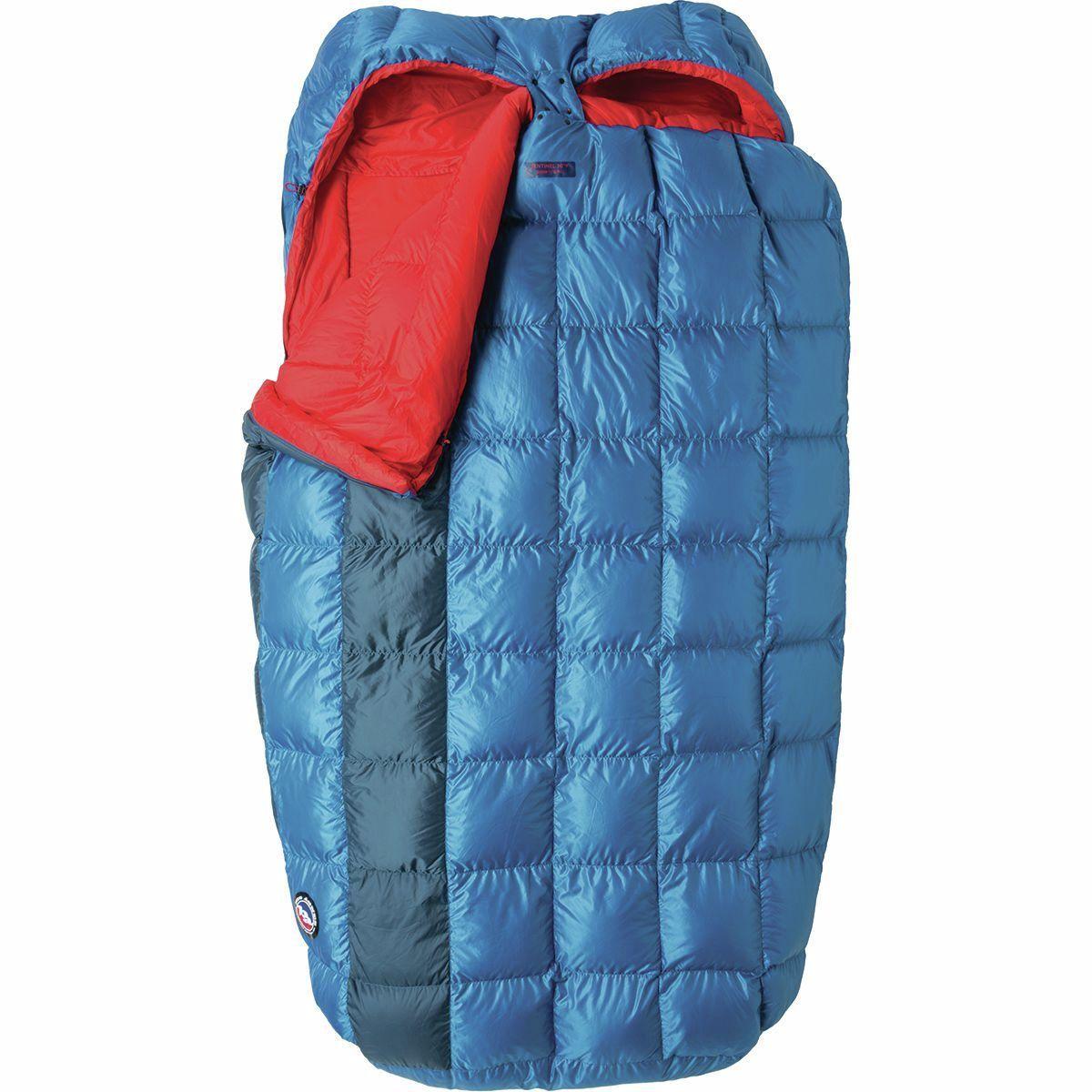 photo: Big Agnes Sentinel 30 Double 3-season down sleeping bag