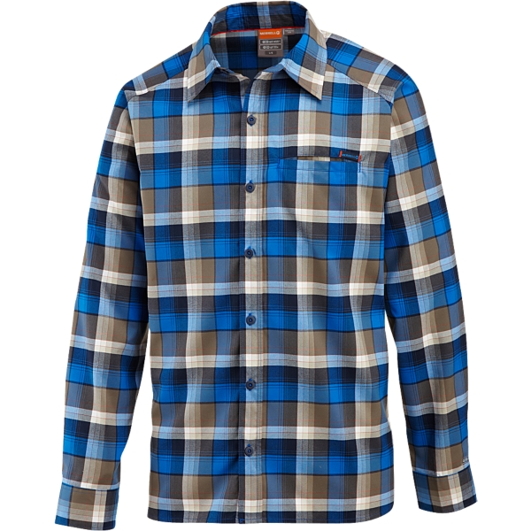 photo: Merrell Hoffman Opti-Wick Canvas Shirt hiking shirt