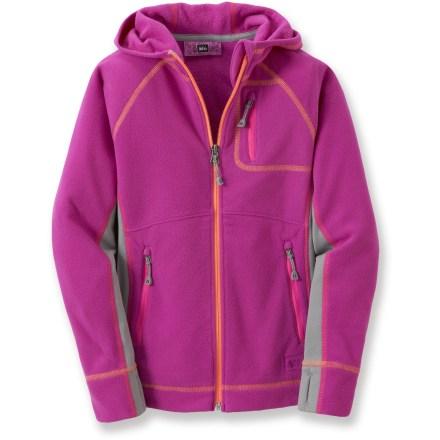 photo: REI Jaya Fleece Hoodie Jacket fleece jacket