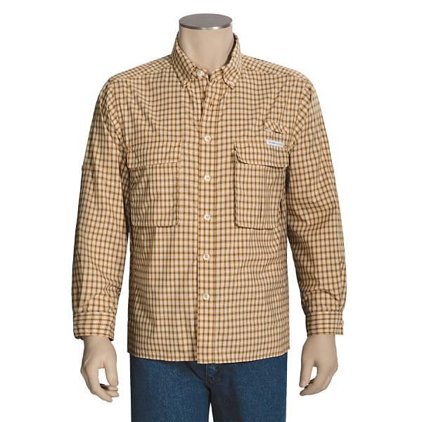 ExOfficio Air Strip Lite Micro Plaid Shirt - UPF 30, Long Sleeve