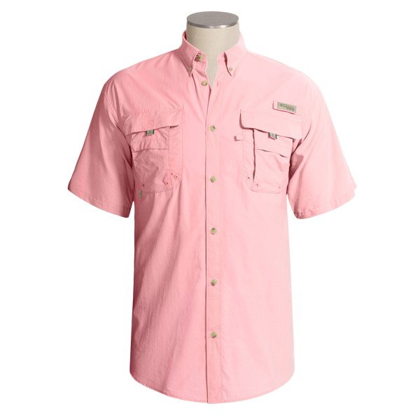 photo: Columbia Bahama II Short Sleeve Shirt hiking shirt