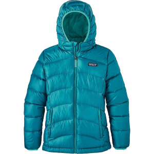 photo: Patagonia Girls' Hi-Loft Down Sweater Hoody down insulated jacket