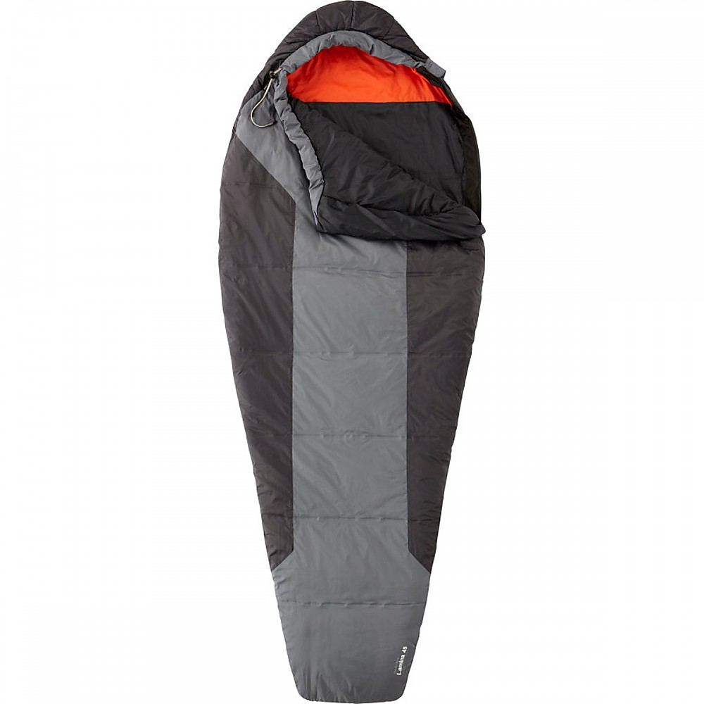 photo: Mountain Hardwear Lamina 45° warm weather synthetic sleeping bag