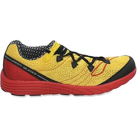 photo: Brooks Green Silence trail running shoe