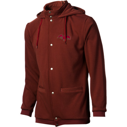 photo: Airblaster Snap Tech Hydro Full-Zip Hooded Jacket fleece jacket