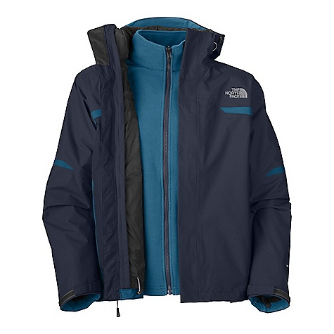 photo: The North Face Bantum Fleece TriClimate Jacket component (3-in-1) jacket