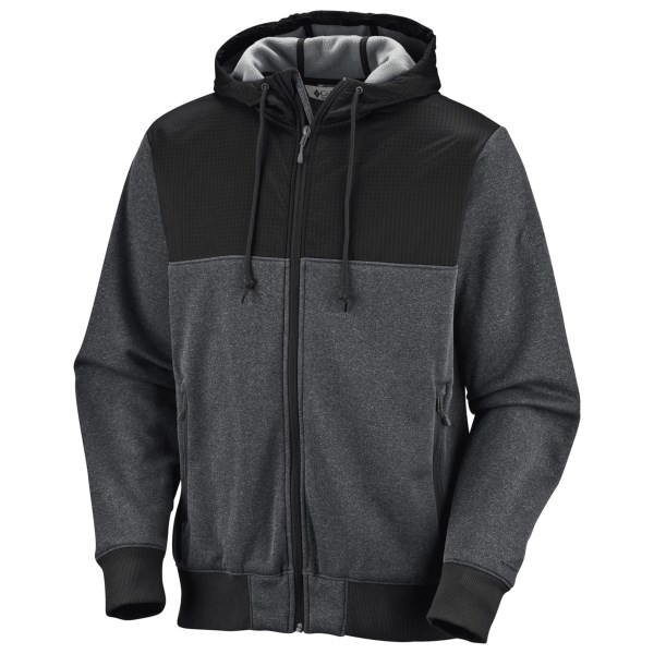 photo: Columbia Double Up Hoodie fleece jacket