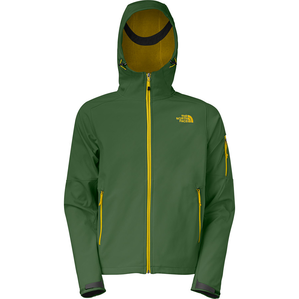 photo: The North Face Apex Android Hoodie soft shell jacket