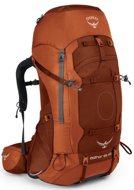 photo: Osprey Aether 85 expedition pack (70l+)