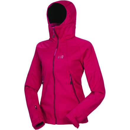 photo: Millet LD Thunderstorm WDS Hoodie soft shell jacket