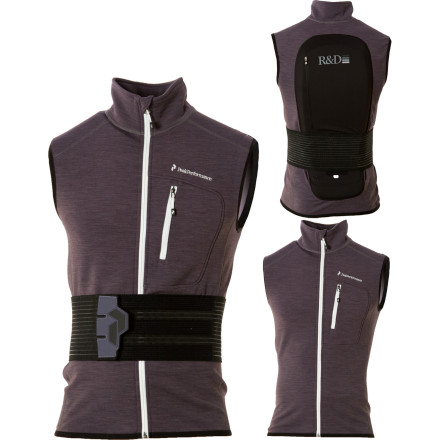 photo: Peak Performance Men's Heli Shield Vest soft shell vest