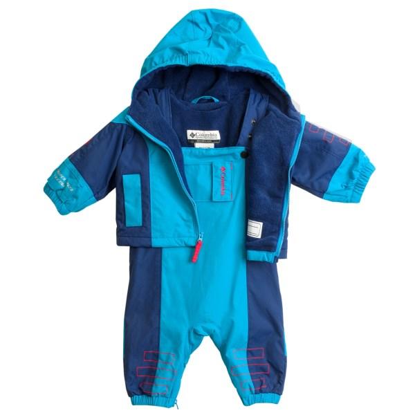 photo: Columbia Phoom-Shoom Set kids' snowsuit/bunting