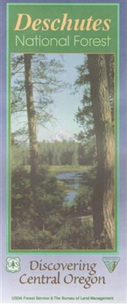 U.S. Forest Service Deschutes National Forest Map