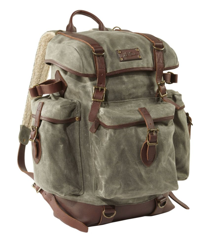 photo: L.L.Bean Waxed-Canvas Continental Rucksack daypack (under 35l)