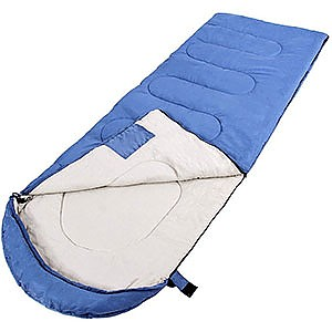 CRAZO Premium Hooded Envelope Sleeping Bag