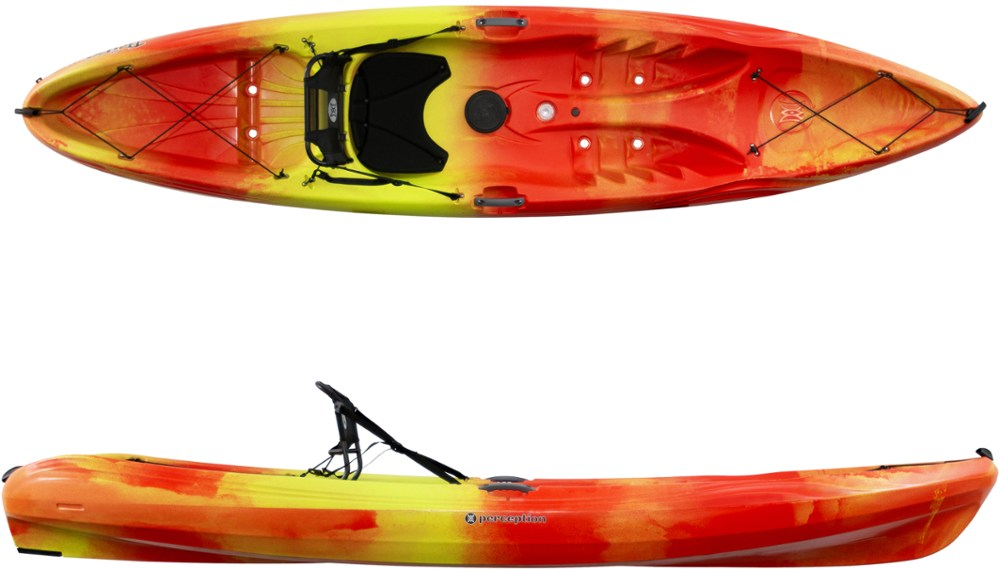 photo: Perception Tribe 11.5 sit-on-top kayak