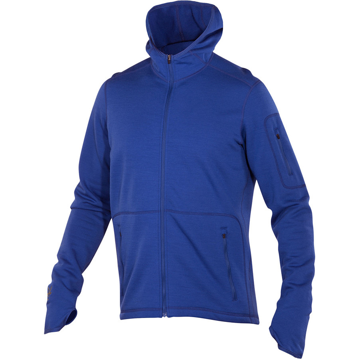 photo: Ibex Men's Nomad Full Zip Hoody wool jacket