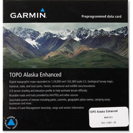 photo: Garmin TOPO Alaska Enhanced microSD Data Card us pacific states map application