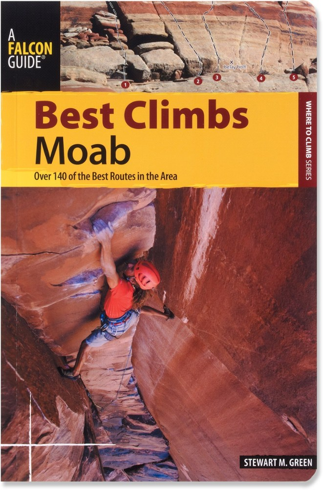 Falcon Guides Best Climbs: Moab