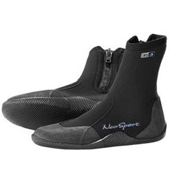 Neosport 7mm High-Top Zipper Boot