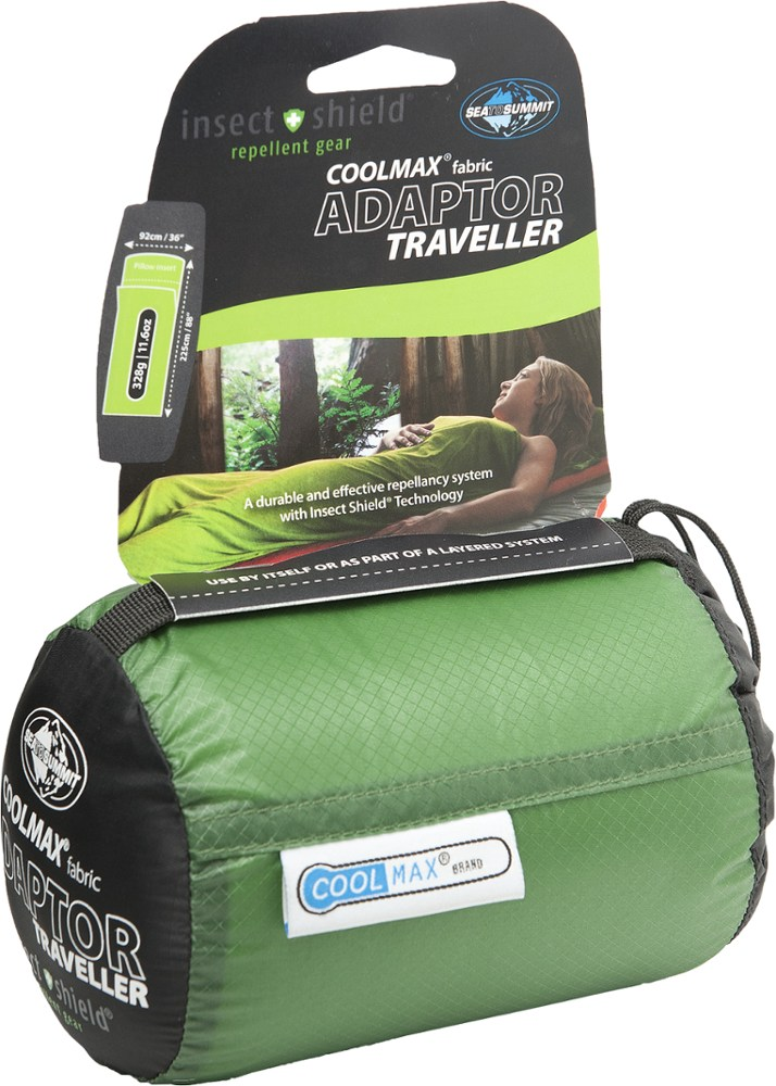 photo: Sea to Summit CoolMax Adaptor Traveller - Insect Shield sleeping bag liner