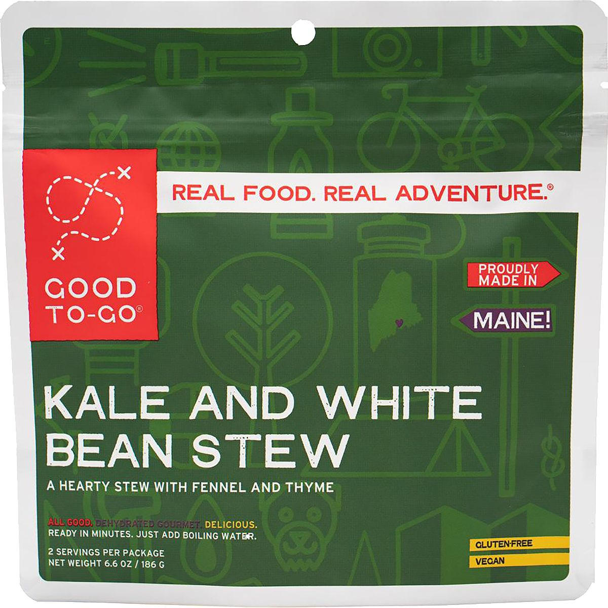 photo: Good To-Go Kale and White Bean Stew vegetarian entrée