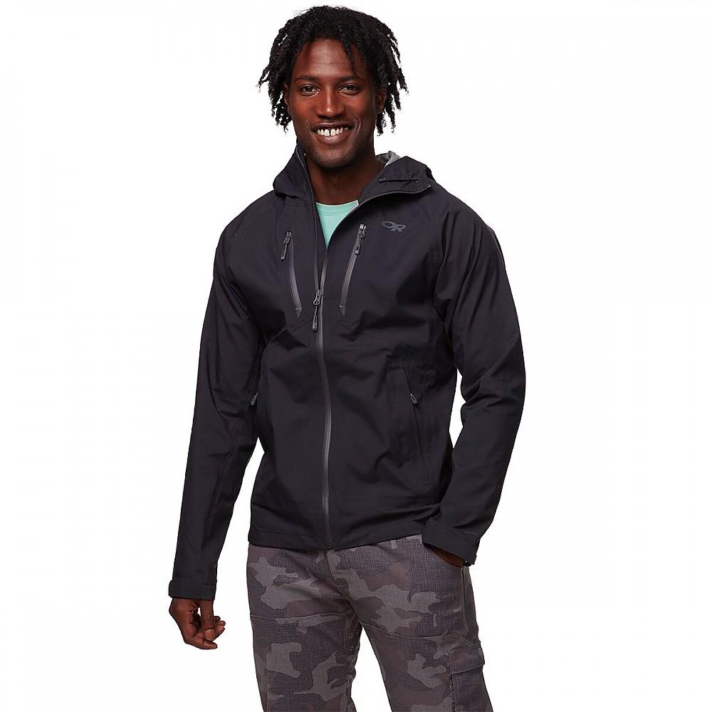 photo: Outdoor Research Microgravity Jacket waterproof jacket