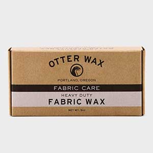photo: Otter Wax Fabric Wax fabric cleaner/treatment